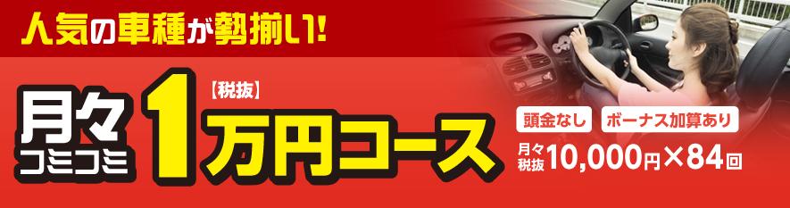 月々コミコミ1万円コース
